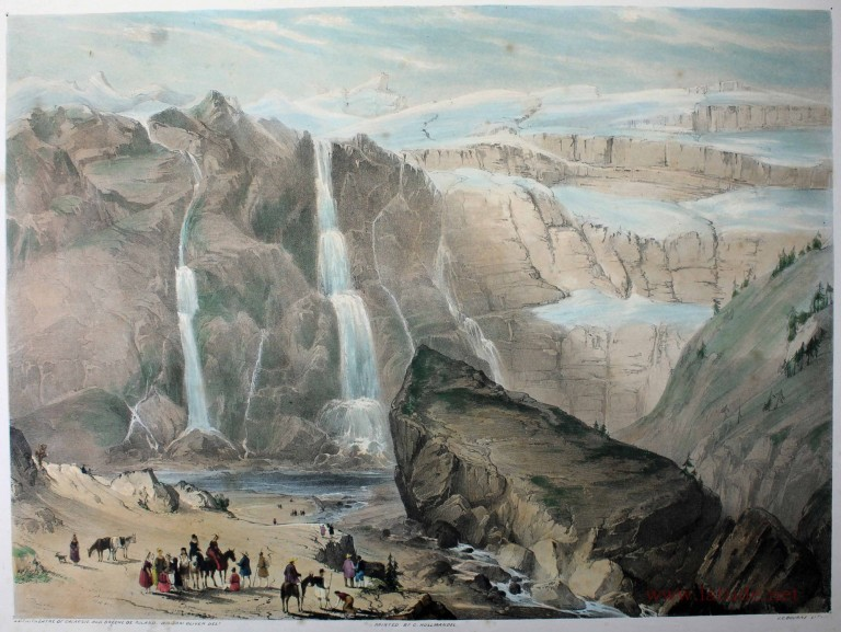 Scenery of the Pyrenees. William OLIVER.