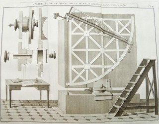 Description et usage des principaux instruments d'astronomie. Pierre-Charles LE MONNIER