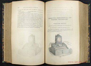 The telegraph manual : a complete history and description of the semaphoric, electric and magnetic telegraphs of Europe, Asia, Africa, and America, ancient and modern.