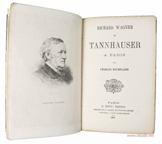 Richard Wagner et Tannhauser à Paris.